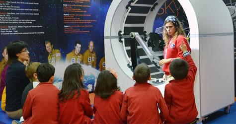 Astronot simülatörleriyle fen dersleri artık daha keyifli