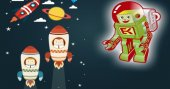 Çocuklar uzaya roket fırlatacak