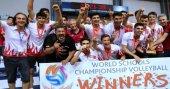 Doğa Okulları voleybolda dünya şampiyonu oldu