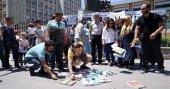 Atanamayan öğretmenler MEB önünde eylem yaptı