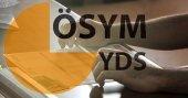 YDS soru kitapçığı ve cevap anahtarı yayımlandı