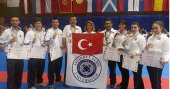 Avrupa Karate Şampiyonası'na İAÜ damga vurdu