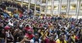 Güney Afrika'da üniversite harcına zam protestosu