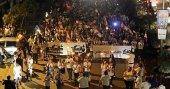 Lübnanlı öğretmenlerden maaş protestosu