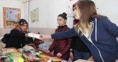 Öğrenciler Suriyeliler için Gönül Köprüsü kurdu