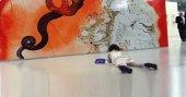 Salvador Dali'yi 6 yaşındaki Bahar kopyaladı
