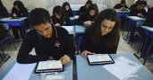Lise öğrencileri elektronik değerlendirme sınavı oldu