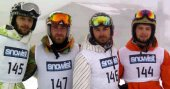 Aydın Üniversitesi Snowboard'da birinci