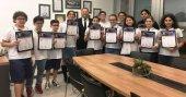 Irmak Ortaokulu öğrencilerinden dört altın madalya