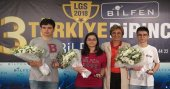Bilfen LGS'de 3 Türkiye Şampiyonu çıkardı