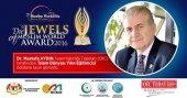 İslam Dünyası Yılın Eğitimcisi Ödülü Dr. Mustafa Aydın'a verildi